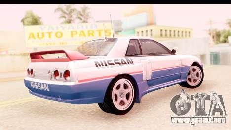 Nissan Skyline Group A para GTA San Andreas left