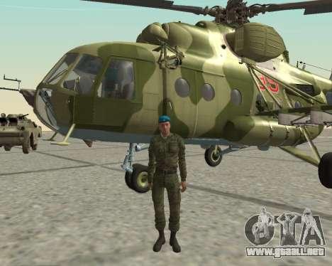 Pak combatientes de aire para GTA San Andreas sexta pantalla
