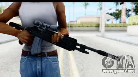 GTA 5 Vom Feuer Marksman Rifle para GTA San Andreas tercera pantalla