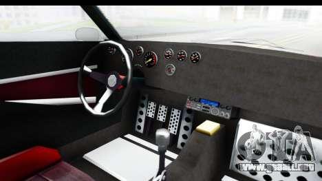 GTA 5 Lampadati Tropos Rallye No Headlights para visión interna GTA San Andreas