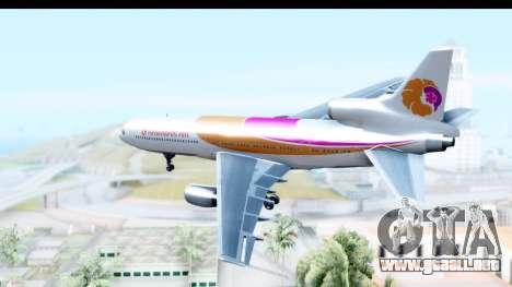 Lockheed L-1011-100 TriStar Hawaiian Airlines para la visión correcta GTA San Andreas