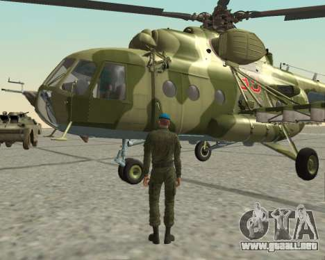 Pak combatientes de aire para GTA San Andreas séptima pantalla