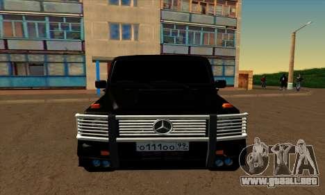 1999 Mercedes-Benz G55 AMG Brabus para GTA San Andreas left