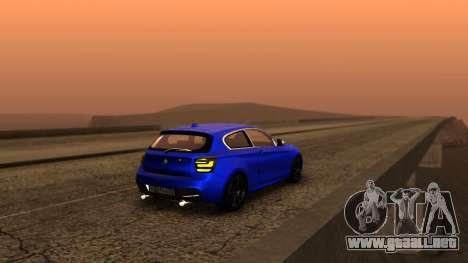 BMW M135i ISlaite Edition para GTA San Andreas left