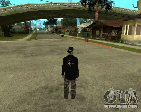 Armenian Skin para GTA San Andreas segunda pantalla