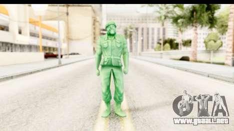 ArmyMen: Serge Heroes 2 - Man v2 para GTA San Andreas segunda pantalla