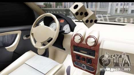 Dacia Logan Coil para visión interna GTA San Andreas