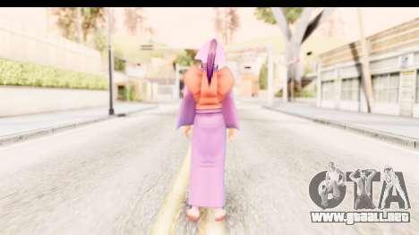 Kamiya v1 para GTA San Andreas tercera pantalla