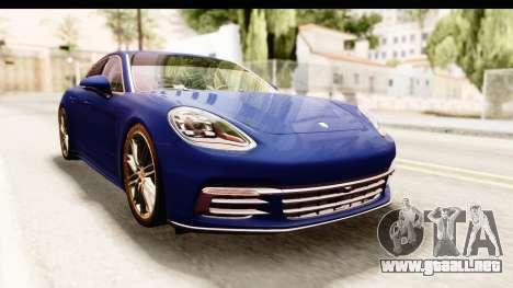 Porsche Panamera 4S 2017 v4 para la visión correcta GTA San Andreas