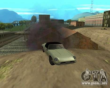 Garaje nuevo Armenia para GTA San Andreas octavo de pantalla