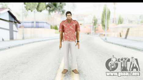 Yakuza 5 Kazuma Kiryu Okinawa para GTA San Andreas segunda pantalla