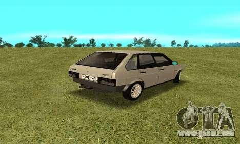 2109 para la visión correcta GTA San Andreas