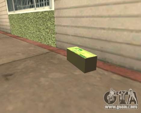 1000 Armenian Dram para GTA San Andreas tercera pantalla