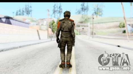 Homefront The Revolution - KPA v4 Camo para GTA San Andreas tercera pantalla