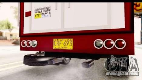 GMC 4100 1950 para visión interna GTA San Andreas