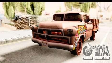 Walton Sticker Bomb para la visión correcta GTA San Andreas