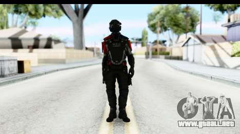 Homefront The Revolution - KPA v1 Captain para GTA San Andreas segunda pantalla