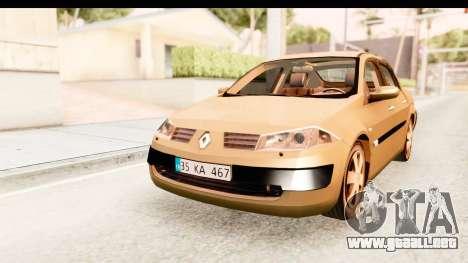 Renault Megane 2 Sedan 2003 para GTA San Andreas