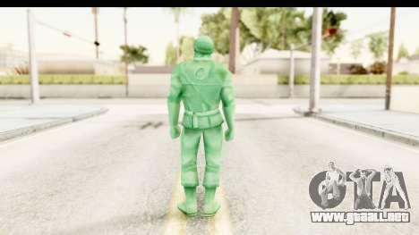 ArmyMen: Serge Heroes 2 - Man v2 para GTA San Andreas tercera pantalla