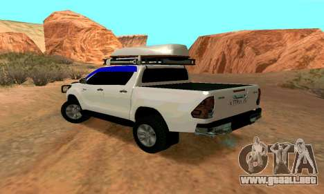 Toyota Hilux para GTA San Andreas left