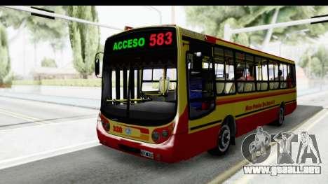 Metalpar Tronador 2 Puertas Linea 324 para GTA San Andreas