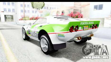 GTA 5 Lampadati Tropos Rallye para GTA San Andreas interior