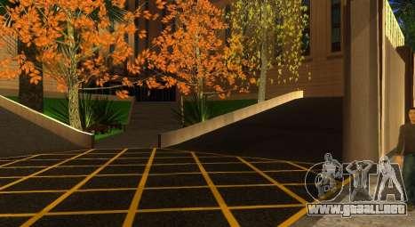 Nuevas texturas de un skate Park y hospital para GTA San Andreas octavo de pantalla