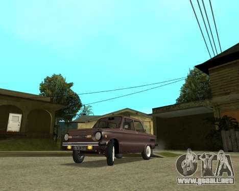 Zaz 968M armenia para GTA San Andreas