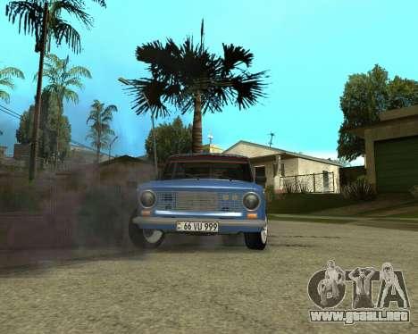 VAZ 2101 Armenia para visión interna GTA San Andreas