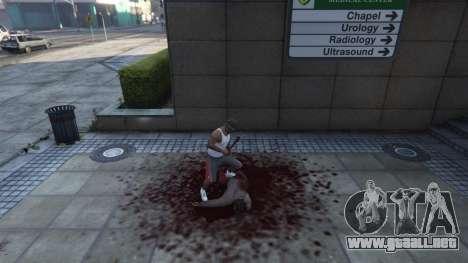 GTA 5 Extreme Blood 0.1 quinta captura de pantalla