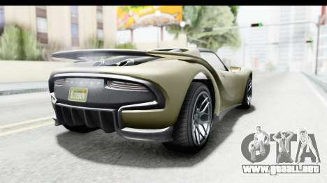 GTA 5 Pfister 811 IVF para GTA San Andreas left