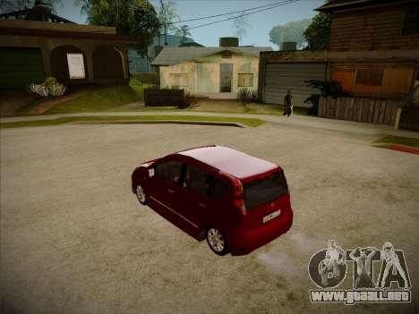 Nissan Note 2008 para la visión correcta GTA San Andreas