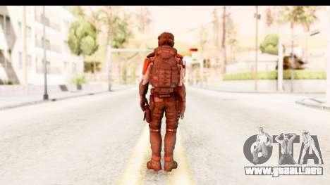 Homefront The Revolution - KPA v2 Captain para GTA San Andreas tercera pantalla