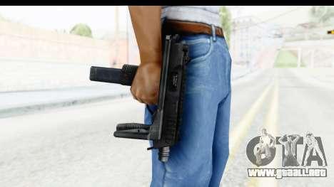 Brujas & Thomet MP9 para GTA San Andreas tercera pantalla