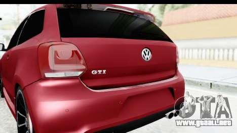 Volkswagen Polo para visión interna GTA San Andreas