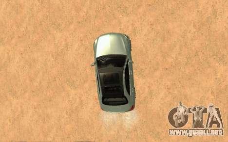 Mercedes-Benz C250 Armenian para GTA San Andreas vista hacia atrás