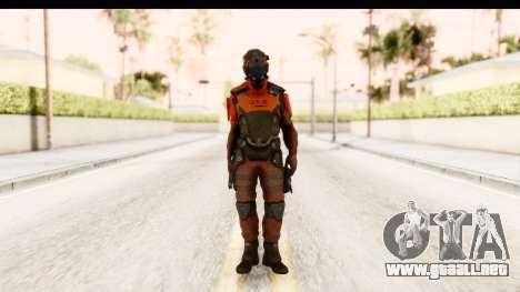 Homefront The Revolution - KPA v2 Red para GTA San Andreas segunda pantalla