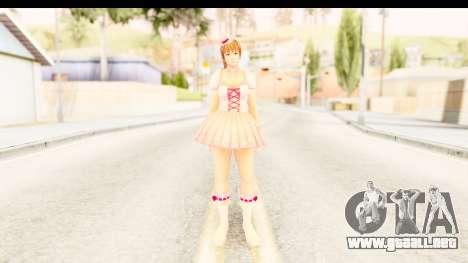 DoA 5 - Ultimate Kasumi Pop Idol Team D para GTA San Andreas segunda pantalla