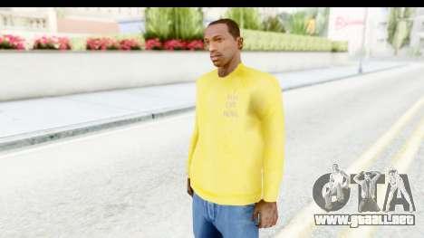I Feel Like Kobe Sweatshirt para GTA San Andreas segunda pantalla