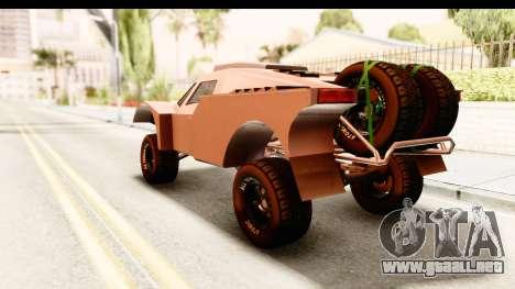 GTA 5 Desert Raid SA Lights PJ para GTA San Andreas left