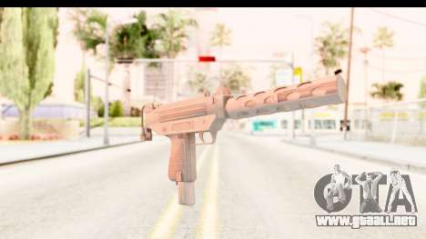 RE2 - Machine Gun para GTA San Andreas segunda pantalla