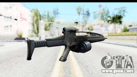 H&K XM8 Drum Mag para GTA San Andreas segunda pantalla