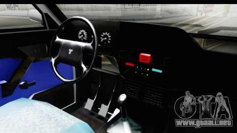 Tofas Dogan para visión interna GTA San Andreas
