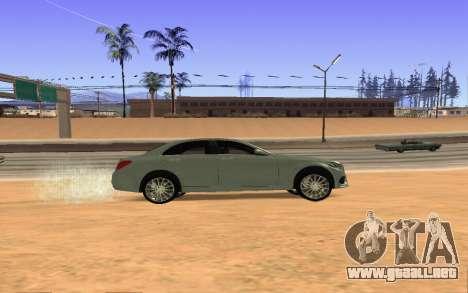 Mercedes-Benz C250 Armenian para la visión correcta GTA San Andreas