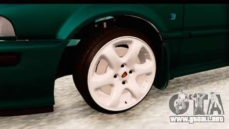 Rover 220 para GTA San Andreas vista hacia atrás