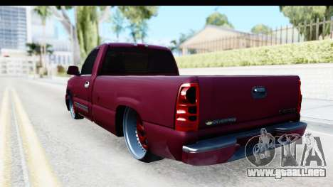 Chevrolet Silverado 2005 Low para GTA San Andreas left