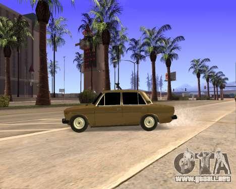 VAZ 2106 Armenian para GTA San Andreas interior