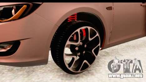 Opel Astra J Tourer para GTA San Andreas vista hacia atrás