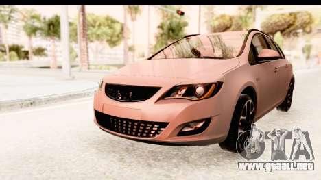 Opel Astra J Tourer para la visión correcta GTA San Andreas