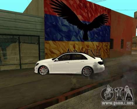 Mercedes-Benz E250 Armenian para el motor de GTA San Andreas